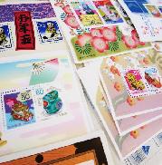 切手(バラ・シート)