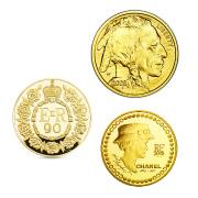 外国の記念金貨も
